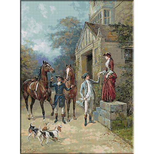 1896.Heywood Hardy - Invitatie la calarie