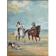1897.Heywood Hardy - Calarind la malul marii