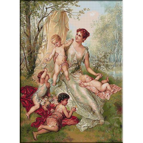 2014.Zatzka - Mama cu copiii