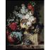 2129.Cornelis van Spaendonck - Flori in vas de marmura