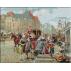 1911.Henry Victor Lesur - Strada din Paris din timpul lui Louis XIV