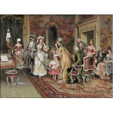 1722.Arturo Ricci - Pauza din timpul concertului