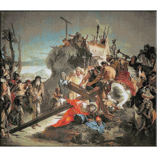 1447.GIOVANNI BATTISTA TIEPOLO - Patimile lui Hristos