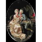 2151.Pio Ricci-Indragostitii goblen clasic