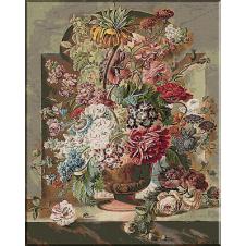 goblen cu flori