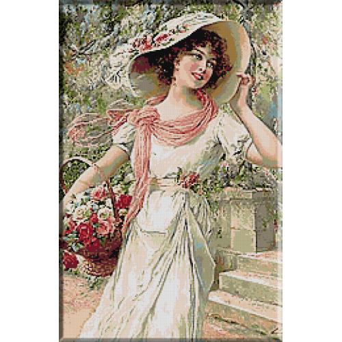 1545.Vernon - Gradina cu flori
