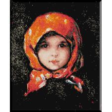 119.Grigorescu- Fata cu basma rosie