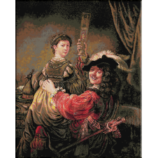 1003. Rembrandt cu Saskia