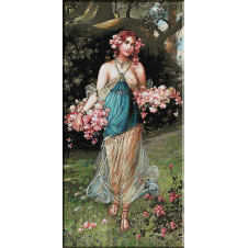2177.Zatska.Fata cu flori