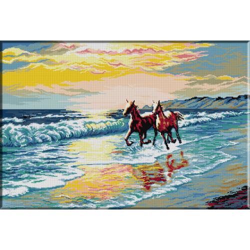 348. Cai pe malul marii