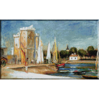 517.Renoir - Port de la Rochelle