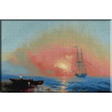 931.Aivazovski - Dimineata la pescuit