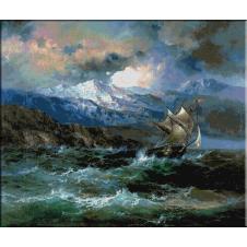 933.Aivazovski - Aproape de coasta