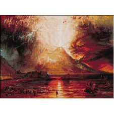 943.Turner-Eruptia Vezuviului
