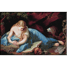 206. Pompeo Girolamo Batoni - Maria Magdalena