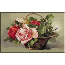 1588.Katharina Klein - Cos cu trandafiri