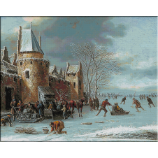 goblen_Heremans Thomas-Iarna pe canal