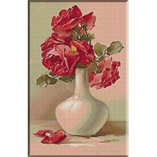 goblen_Klein-Vas cu trandafiri