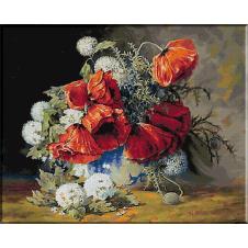 Julien Stappers.Vas cu flori
