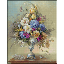 2321.Vase with Flowers