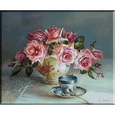 goblen-flori-ceasca-de-cafea