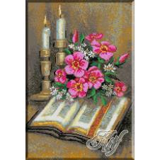233. Biblia cu lumanari