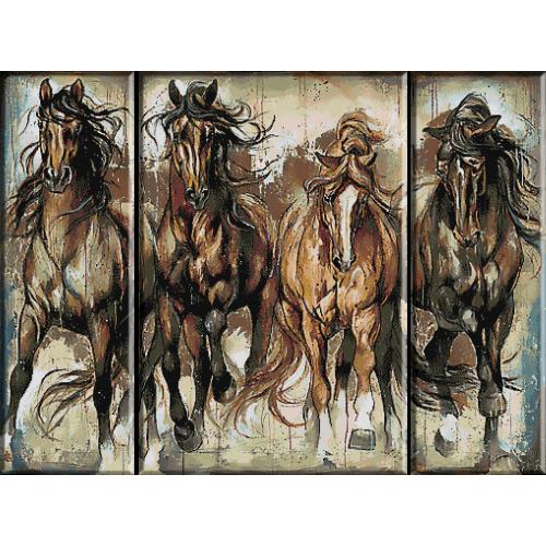 2352. конния триптих