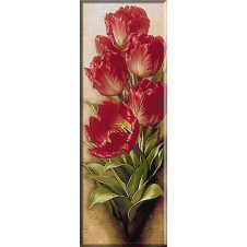 2374.red tulips