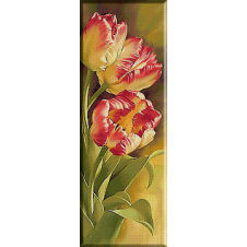 goblen-flori-lalele-galbene