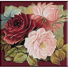 goblen cu flori culori
