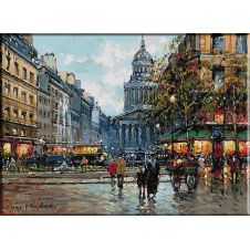 2388.Antoine Blanchard-piactér Luxembourg