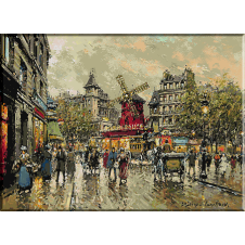 Moulin Rouge Piata Blanche goblen
