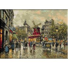 2389.Antoine Blanchard.Moulin Rouge