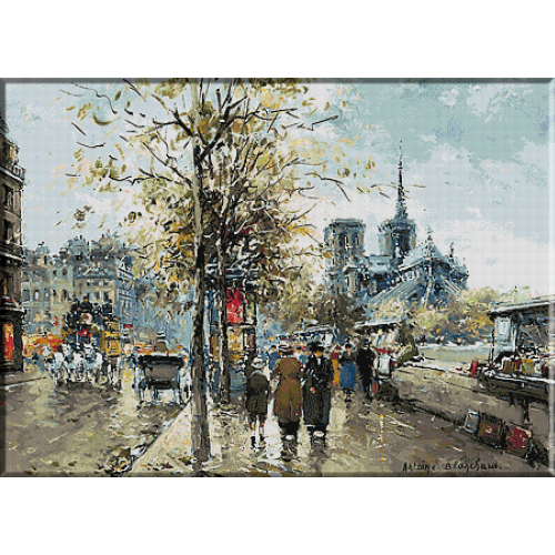 2390.Antoine Blanchard.Notre Dam Paris