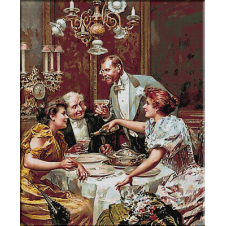 2423.Ludovico Marchetti-Christmas Eve Dinner
