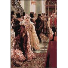2426.James Tissot-At a fashion show