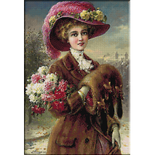 2430.Emile Vernon.téli Rózsa