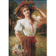 2432.Emile Vernon-Wild flowers