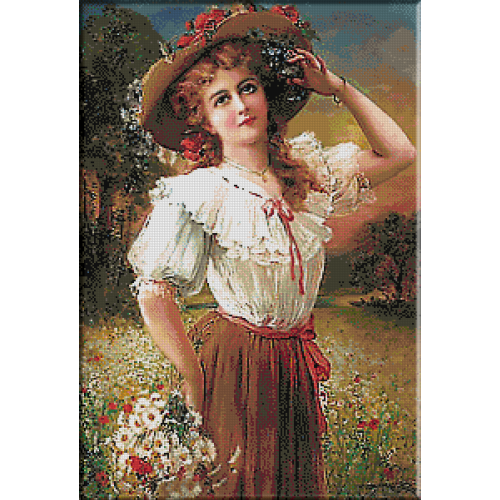 2432.Emile Vernon-Диви цветя