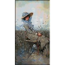 2440.N.Grigorescu-In the garden
