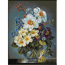 2477.Spring bouquet