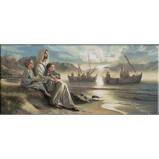 Omul din Galilea-goblen teme religioase