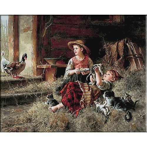 2494.Wilhelm Schutze-Приятели във фермата