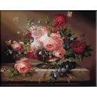 abundenta -goblen flori