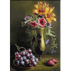 2516.Mrtva priroda sa grožđe