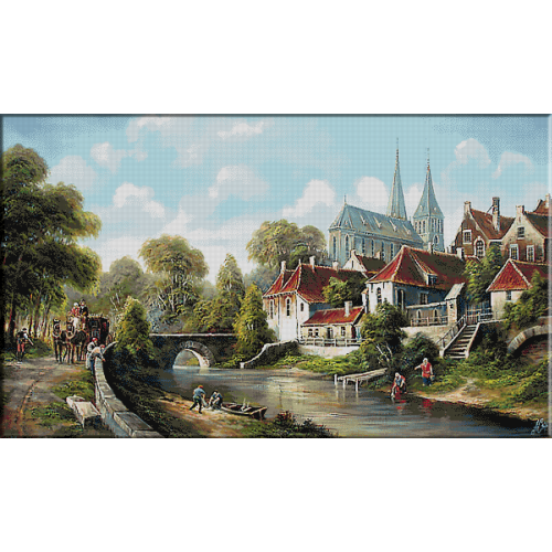 2523.Холандски пейзаж