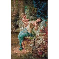 2542.Hans Zatzka.Cupid strela