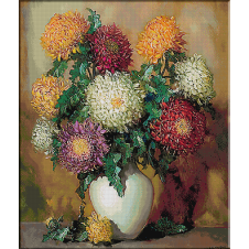 2550.Pot chrysanthemums