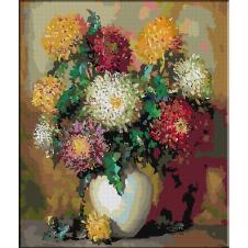 2552.Pot chrysanthemums