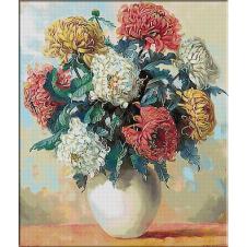2551.Pot chrysanthemums